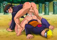 2boys anal anus ass barefoot blush bottomless cum cum_on_ass cum_while_penetrated cumdrip from_behind gaping grin happy_sex inuzuka_kiba male_focus multiple_boys naruto naughty_face penis sex smile szadek testicles uzumaki_naruto wince yaoi // 1200x848 // 190.1KB