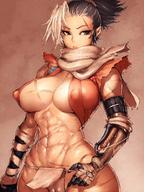 1girls abs breasts cameltoe cleavage erect_nipples female female_only fumio_(rsqkr) nipples rule_63 scar sekiro sekiro:_shadows_die_twice solo // 1200x1600 // 394.6KB