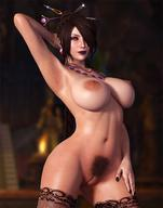 3d 3d_babe 3d_hentai breasts brown_hair busty female female_only hairy_pussy large_breasts lulu_(final_fantasy) nipples nude pussy rasmus-the-owl stockings // 1200x1521 // 189.0KB