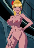 ben_10 ben_10:_omniverse big_breasts blonde breasts female female_only humanoid mazuma nipples nude pony_tail pose pussy red_eyes tulamere vagina wide_hips // 880x1250 // 142.3KB